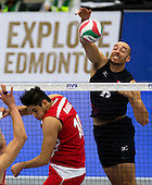 Volleyball Norceca Olympic qualification tournament Edmonton 2016