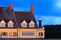 Picture of Outer Banks, Whalehead Club and Currituck Light.