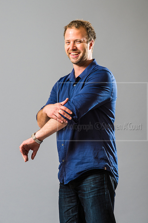 Comedian Rob Harris for the New Zealand Comedy Trust.  Photo credit: Stephen A'Court.  COPYRIGHT ©Stephen A'Court