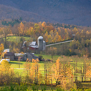 Farm in the Green Mountains of Vermont