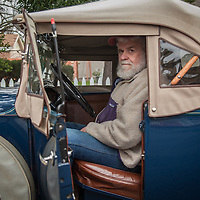 "Calistoga resident John Davis with his 1931 Model A Roadster.  ""I paid $5 for my first Model A, $25 for my second one, and $500 for my third...I just paid $17,500 for this one.""  Mr. Davis has lived in the Calistoga area since 1972.  hugo31@comcast.net"