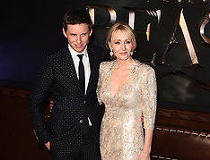 15 NOV 2016 Fantastic Beasts And Where To Find The European Premiere