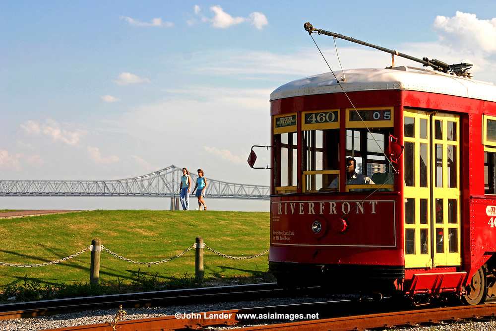 New Orleans Streetcar - Streetcars in New Orleans have been an integral part of the city's public transportation network since the first half of the 19th century. The longest of New Orleans' streetcar lines, the St. Charles Avenue Streetcar, is the oldest continuously operating street railway system in the world. Today, the streetcars are operated by the New Orleans Regional Transit Authority.