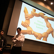 Global Engagement Summit at Wolff Auditorium. Photo by Rajah Bose