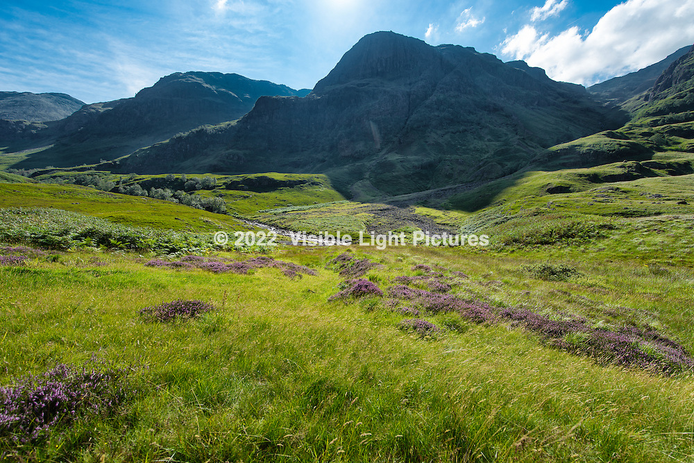 Hills, clouds, lush greenery and patches of purple heather make this one of the most beautiful and epic landscapes.