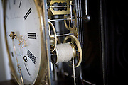 A view of the inner workings of an old clock mechanism. Image © Angelos Giotopoulos/Falcon Photo Agency