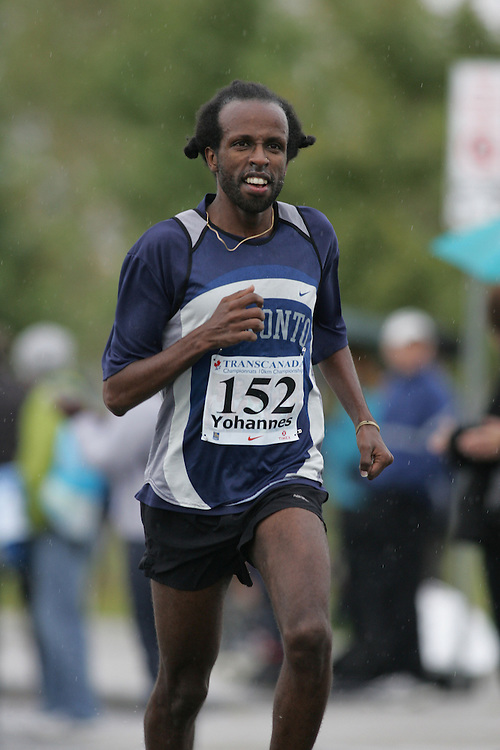 (13/10/2007--Ottawa) TransCanada 10K Canadian Championship run by Athletics Canada. The athlete in action is SELAM YOHANNES
