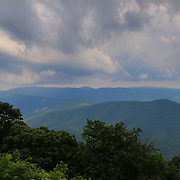 &quot;Clouds Upon the Blue Ridge&quot;<br /> <br /> Beautiful storm clouds and mountain layers of the Blue Ridge Mountains of Virginia during summertime!