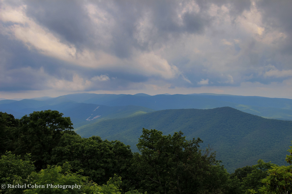 &quot;Clouds Upon the Blue Ridge&quot;<br />