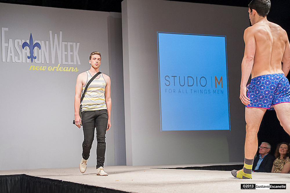 Studio   M for all things men showing their collection at Fashion Week New Orleans.