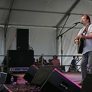 June 18, 2006; Manchester, TN.  2006 Bonnaroo Music Festival. . Steve Earle performs live at Bonnaroo 2006.  Photo by Bryan Rinnert