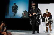 Benefit Fashion Show held during the Chocolate Show in New York. Super Hero costumes were primarily created from chocolate.