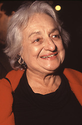 Writer Betty Friedan, (1921 - 2006) author of The Feminine Mystique