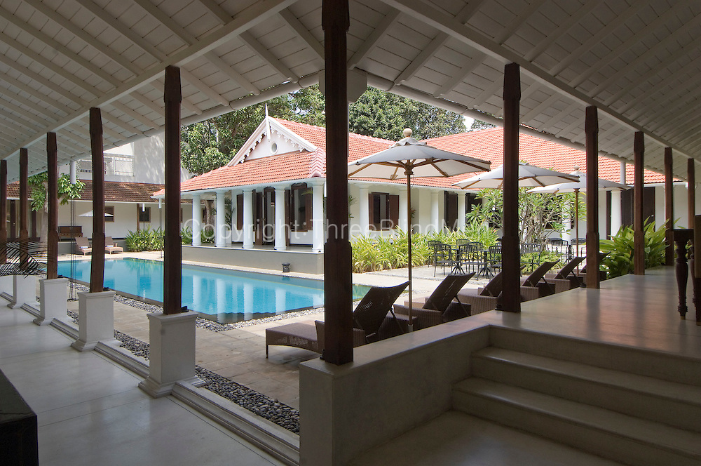 "A 250 yr old colonial bungalow and adjoining stores/warehouses that occupy an extent of 2 acres of land in the heart of Colombo, is now the newly refurbished charming, friendly 12-room boutique hotel, The Park Street Hotel. It is one of the few remaining bungalows of its kind in Colombo, formerly the home of a colourful and eccentric couple who were members of Colombo?s ""elite""."