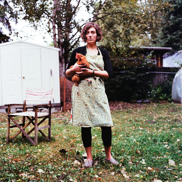 ANCHORAGE, ALASKA - 2012: Megan McBride.