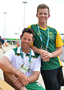 07 August SA Golfers in Athletes Village
