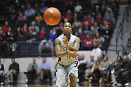 """Mississippi's Jarvis Summers (32) vs. Alabama at the C.M. """"Tad"""" Smith Coliseum in Oxford, Miss. on Wednesday, February 26, 2014. (AP Photo/Oxford Eagle, Bruce Newman)"""