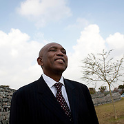 19 June 2009, Jacob Maroga, CEO of South African Electricity Utility company, Eskom. Eskom is the world's eleventh-largest power utility in terms of generating capacity, ranks ninth in terms of sales, and boasts the world's largest dry-cooling power station.