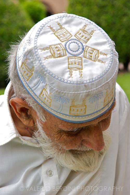 A muslim man.