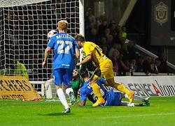 Matt Taylor of Bristol Rovers scores - Mandatory byline: Joe Meredith/JMP - 07966 386802 - 29/09/2015 - FOOTBALL - Victoria Park - Hartlepool, England - Hartlepool United v Bristol Rovers - Sky Bet League Two