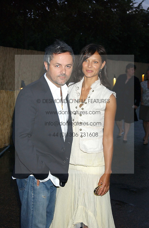 NELLIE HOOPER and girlfriend ULIA at the annual Serpentine Gallery Summer Party co-hosted by Jimmy Choo shoes held at the Serpentine Gallery, Kensington Gardens, London on 30th June 2005.<br />