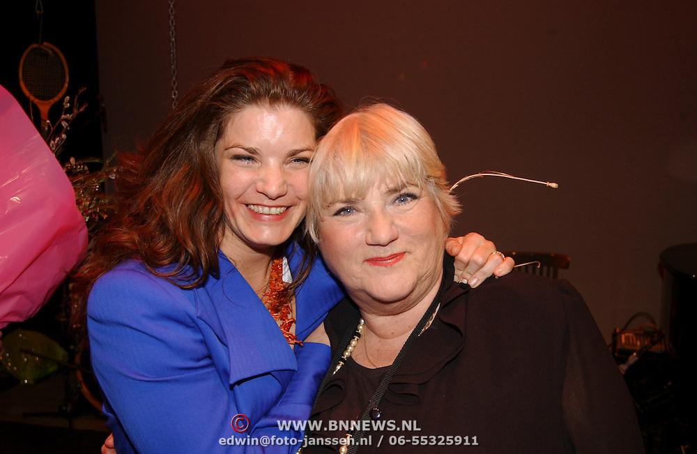 Nelly Frijda 50 jaar in het theatervak, dochter Miranda, Nelly