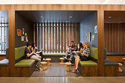 Chapman University Student Union by AC Martin Architects.  Photography by Tom Bonner Job # 5761