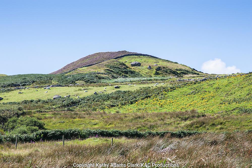 Clare Island off coast of western Ireland