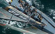 Louis Vuitton Cup racing, Auckland, New Zealand.