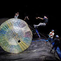 JACKSONVILLE + ORLANDO, FL - Josh Sheehan, Travis Pastrana, and the rest of the Nitro Circus Crew make their first U.S. Tour stops in Jacksonville and Orlando, Florida.  (PHOTO / CHIP LITHERLAND)
