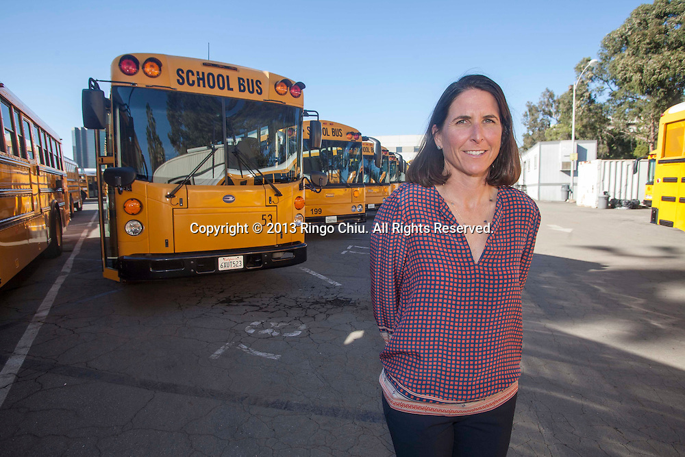 Erin Benfield, owner of Tumbleweed bus company. (Photo by Ringo Chiu/PHOTOFORMULA.com)