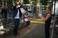 2013 Global Citizen's Festival. <br /> <br /> Photo &copy;Robert Caplin