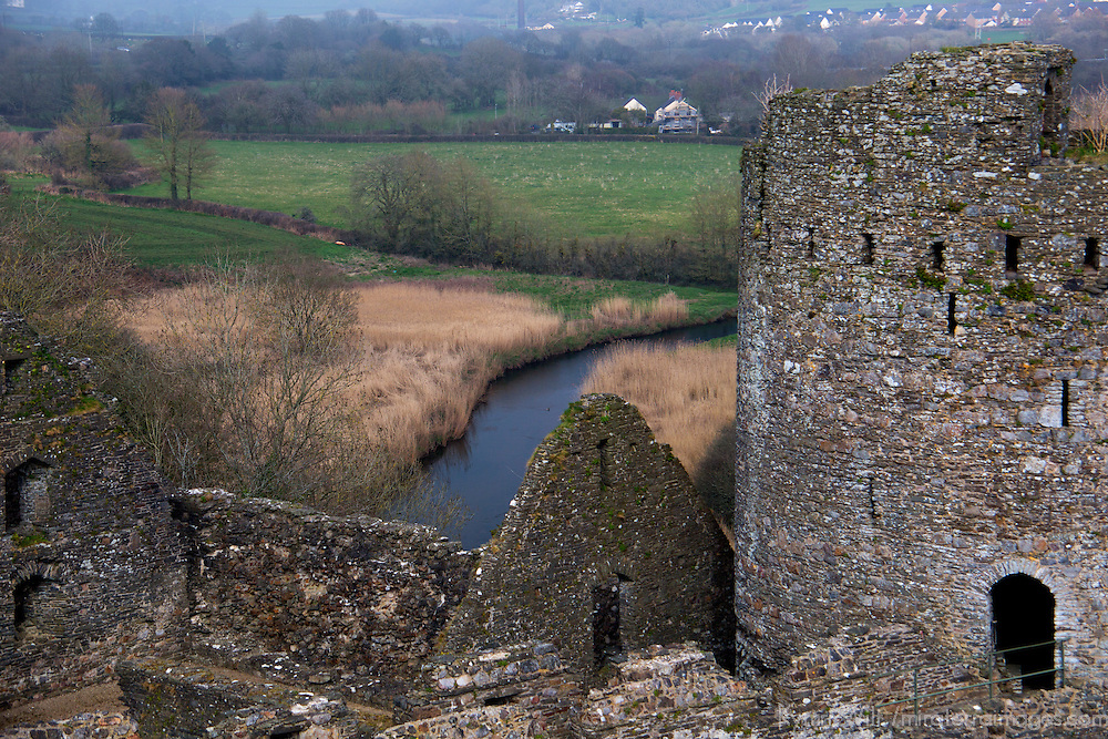 Europe, United Kingdom, Wales, Kidwelly. Kidwelly Castle.