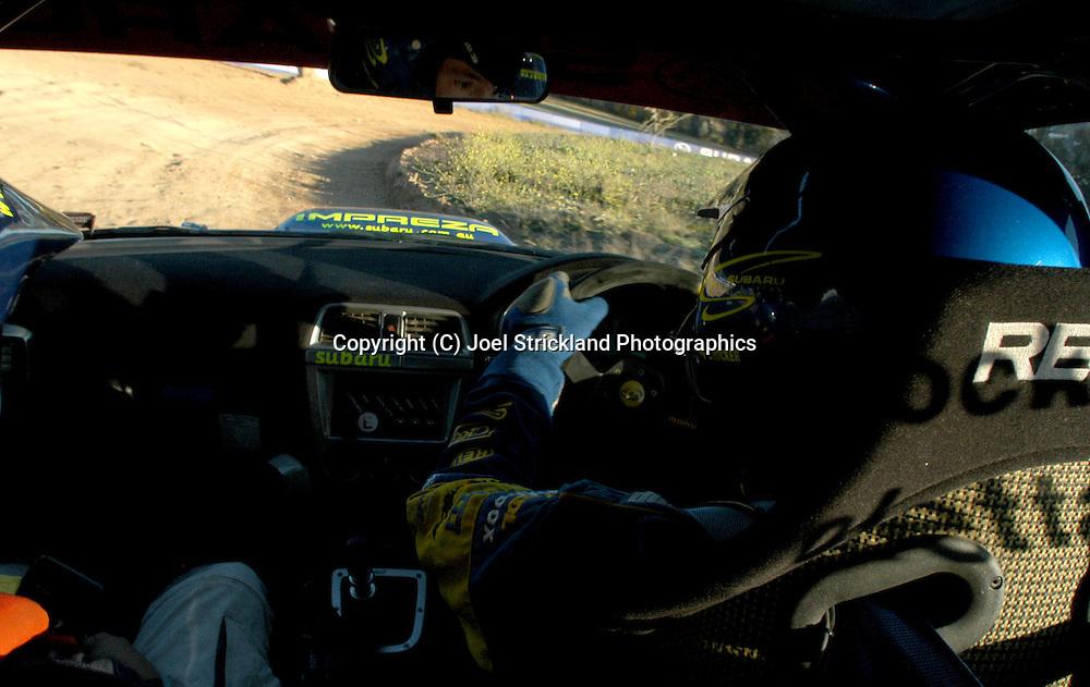 Cody crocker in car 2003 rally of canberra joel for Crocker motors used cars