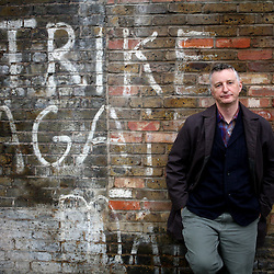 By Paul Grover Pic Shows Billy Bragg in East London Pic Paul Gover