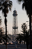 Torre Jaume I Barcelona Photography shoot in 2008 by Christopher Holt
