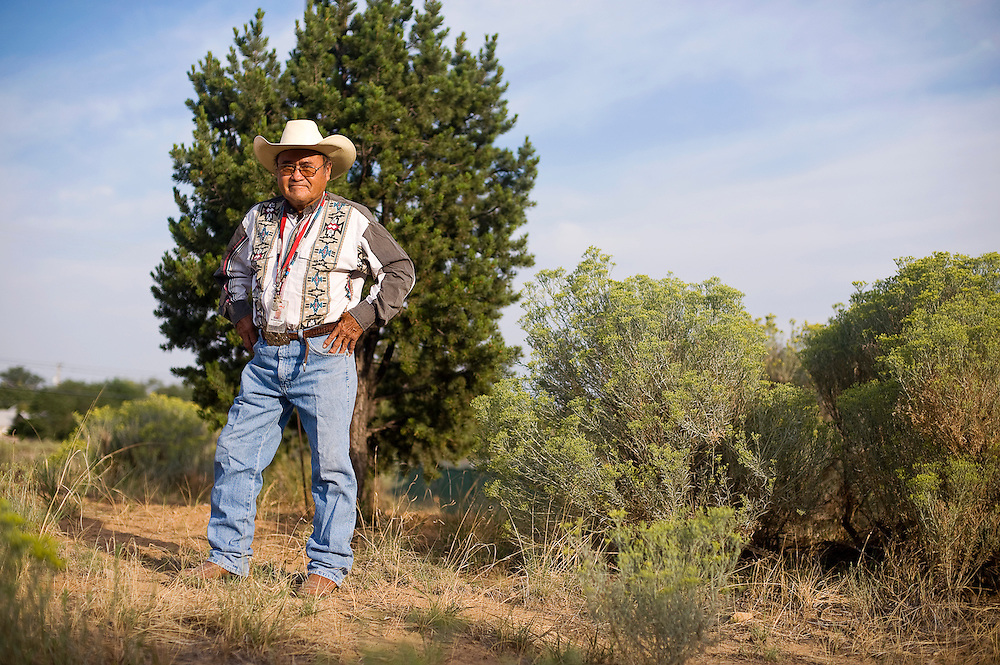081612       Brian Leddy.Herbert Keeto used spend his time in the open spaces of Gallup drinking. Now, 18 years sober, he works as a Vocational Manager at Na'Nizhoozhi Center Inc.
