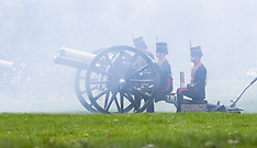 2016-06-02 Queen's coronation anniversary marked with 41-gun salute in Hyde Park.