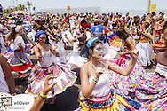 Rio de Janeiro, Ipanema Beach, Street carnival, Brazil