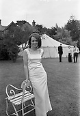 1967 - Miss S. Stapleton's party at Glenageary, Dublin