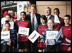 DEC 03 2014 Prince Harry at  ICAP Charity Day