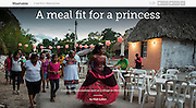 Mashable.com: &quot;A Meal Fit for a Princess&quot;. (January 18, 2016)<br /> <br /> Photos, Text and Producing by Matt Lutton