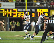 Mississippi quarterback Bo Wallace (14) vs. Vanderbilt in Nashville, Tenn. on Thursday, August 29, 2013.