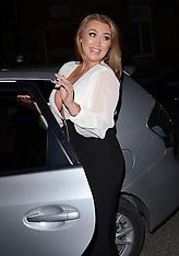 22 FEB 2014 Lauren Goodger attends Marino Laslo Gig