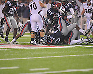 at Vaught-Hemingway Stadium on Saturday, November 27, 2010. Mississippi State won 31-23.