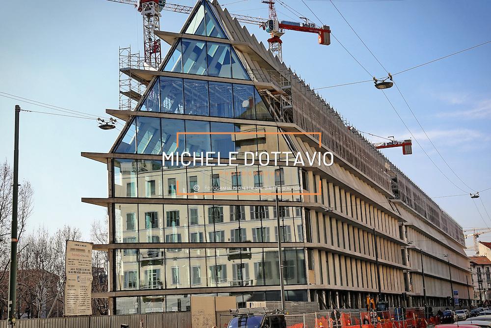 Riqualificazione dell'area di Porta Volta, nel cuore della città di Milano. Il progetto è dello studio internazionale Herzog & de Meuron, voluto da Comune di Milano e Gruppo Feltrinelli,