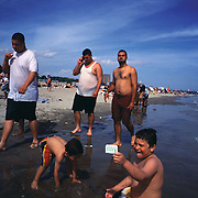 Coney Island, New York's legendary city beach draws thousands every year.