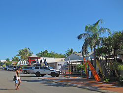 Dampier Terrace, Broome, the pearl capital of Australia.