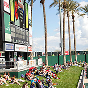 Goodyear Ballpark is a stadium in Goodyear, Arizona and part of a $108 million baseball complex that is the current spring training home of the Cleveland Indians and the Cincinnati Reds