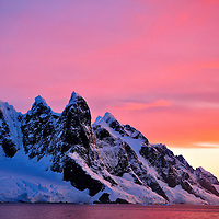 Beautiful landscape in the Antarctic peninsula, Antarctica